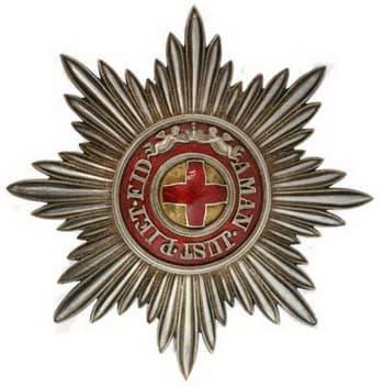 Звезда ордена Святой Анны
